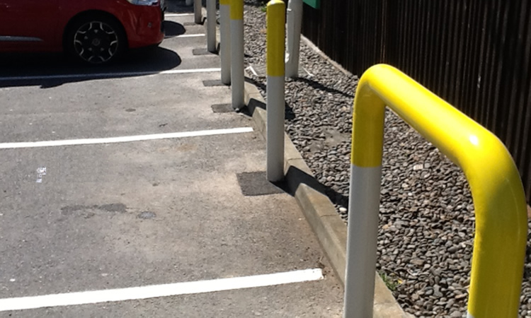 Harris Pipework Bollards